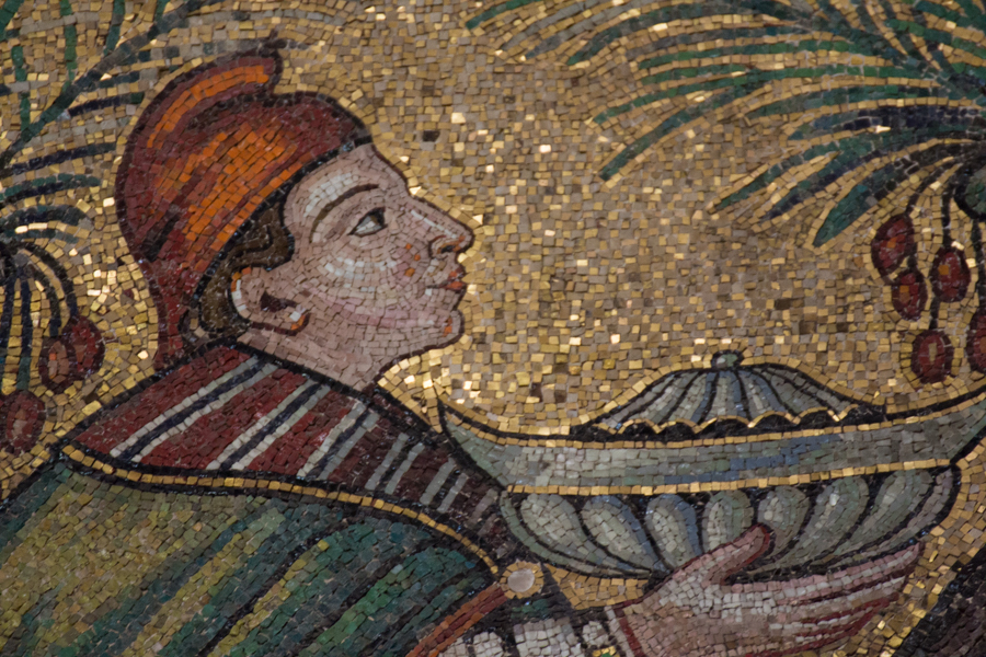 Re magi, mosaico Ravenna