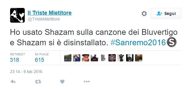 Blu Vertigo #Sanremo2016