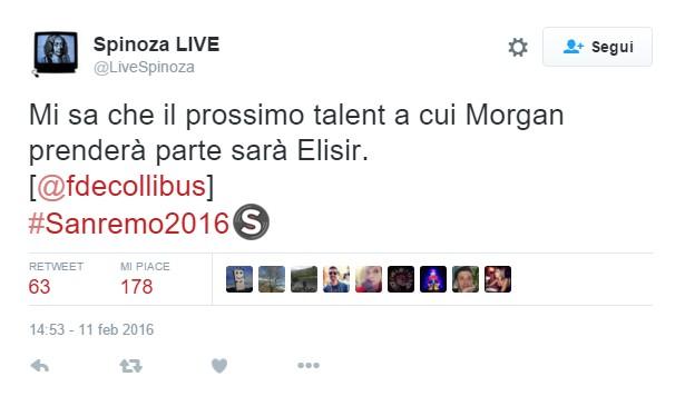 Morgan a #sanremo2016