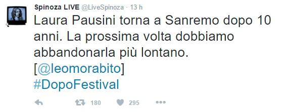 Pausini #sanremo2016