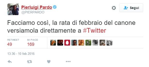 Twitter e Sanremo