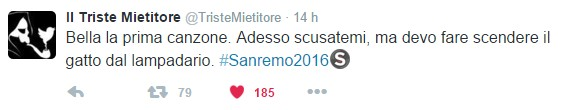 Canzoni #Sanremo2016