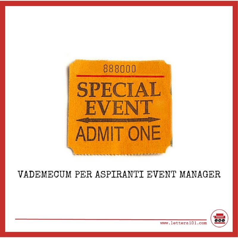 vademecum per event manager