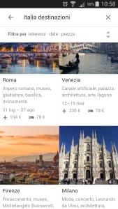 Google Destinations Italia