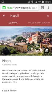 Google destinations - Napoli