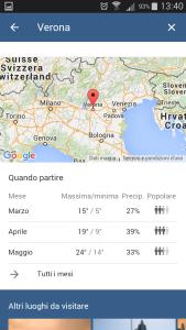 Google destinations - Quando partire