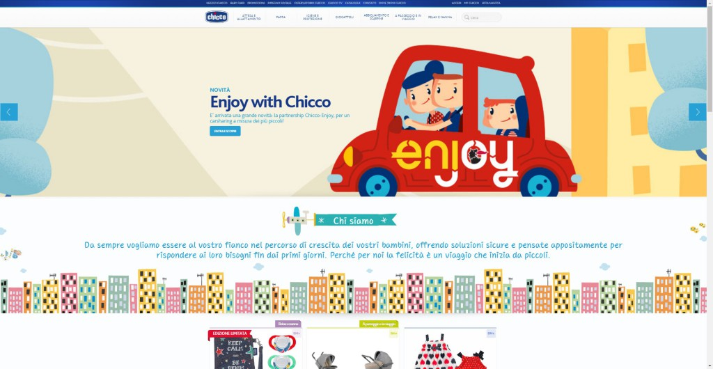 chicco home page