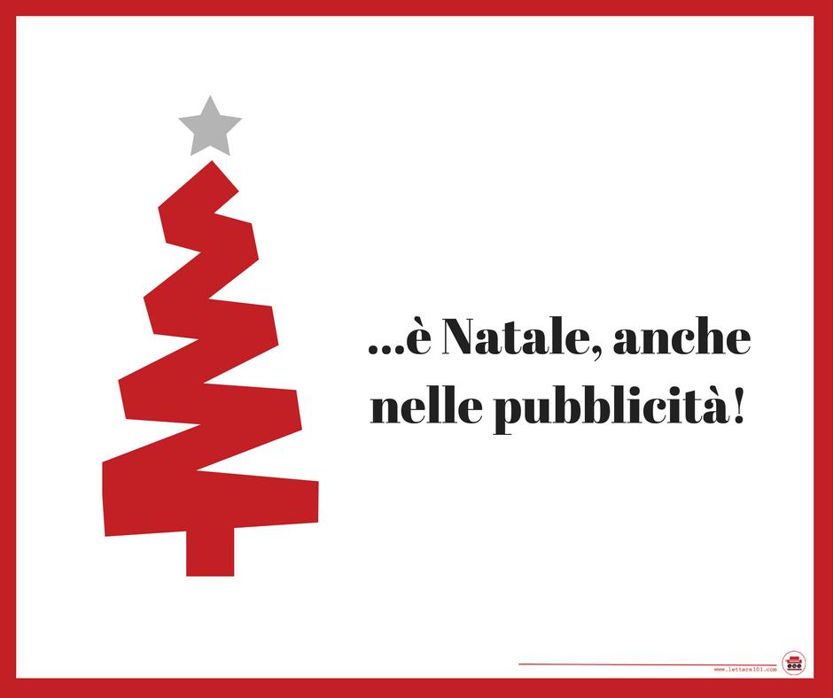 Pubblicità Natale 2016