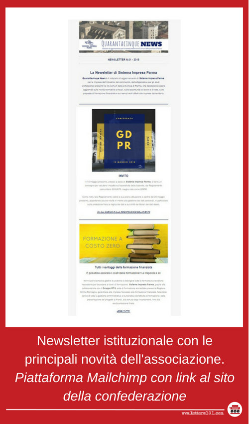 Lettera101 newsletter