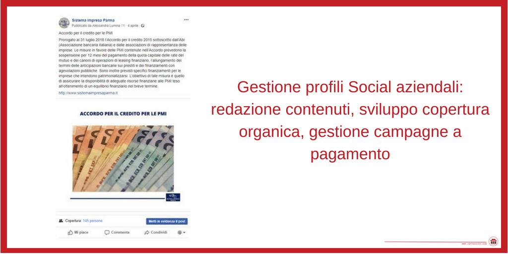 Lettera101 Social Media Management